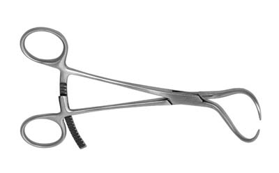 "Bone Fragment Forceps 6.5"" - Large"